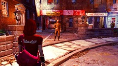 55 (Beth Amphetamines) Tags: pink gold screenshot state cola good farm tshirt redhead purse synth finn neighbor satchel lizzy shoulderbag nuka plated pipboy wristguard fallout4