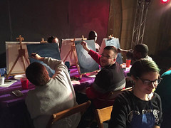 On Tuesday, December 6, 2016, NW PA Pride Alliance and Dramashop held Painting With Pride 2, a joint fundraiser at Dramashop, 1001 State St, Erie PA. Thanks go out to Angela, our instructor, and Dickey's Barbecue Pit for the use of tables. The event was w (Michael Mahler) Tags: bisexual dramashop erie eriecountypa eriepa gay lgbt lesbian nwpapridealliance painting pennsylvania pride transgender