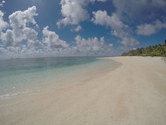 Pristine beaches, no people and pure silence!
