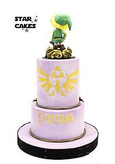 tarta zelda (StarCakesMadrid) Tags: tarta cake fondant zelda link tartafondant
