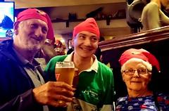 "France, Pyrénées-Atlantiques, Bayonne - Mike Norrington, Martin Hathaway & Geraldine Norrington (Biffo1944) Tags: france pyrénéesatlantiques bayonne ""mike norrington"" ""martin hathaway"" ""geraldine ""katie dalys"" ""irish bar"" sonyz10240"