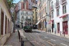 Rua das Escolas Gerais (ernstkers) Tags: 741 bonde carris carristur ccfl ccfl741 lisboa portugal streetcar tram tramvia tranvia trolley eléctrico strasenbahn spårvagn