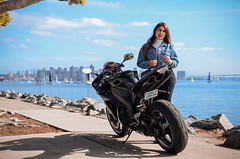 DSC_9224 (Steven Lenoir) Tags: yamaha yamahar1 r1 yammie sportbike sportsbike streetbike teamyamaha moto motorcycle harborisland sandiego sd model downtownsandiego bay