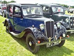 544 Morris Eight 4 door Saloon (Series 1) (1935) (robertknight16) Tags: morris british 1930 eight wmmorris luton cpj380