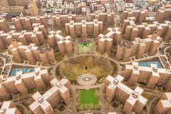 Stuyvesant town, Lower Manhattan, 12608 (Ben Tov Collections) Tags: 12608 lowermanhattan aerialphotographstuyvesanttown manhattan newyork usa
