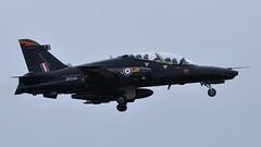 ZK034 (goweravig) Tags: zk034 raf hawk bae flyby lowpass swanseaairport 4squadron 4rsquadron swansea wales uk codedy