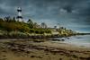 Shrove Lighthouse (burgootim) Tags: ireland donegal november lighthouse beach coast seascape clouds weather