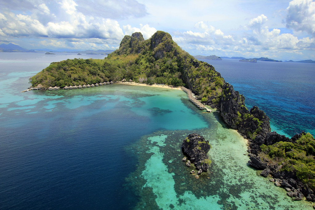 Apulit Island Resort - Aerial