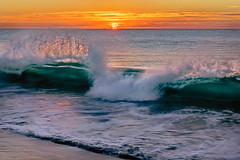 Fire Water (jthight) Tags: seaofcortez sand sunrise winter naturallight cabo water surf royalsolaris mexico afzoom2470mmf28g january beach zse sanjosedelcabo nikond810 clouds sky seascape morning coast lightroom waves sanjosédelcabo bajacaliforniasur mx