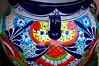 #84/117 - Decorative - 117 Pictures in 2017 (Krasivaya Liza) Tags: nogales mexico mexican border town souvenirs pottery 84117 84 decorative vase urn 117picturesin2017 colorful bold vibrant colors tourists tourism village international calle