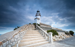 Cap Formentor (Mika Laitinen) Tags: canon5dmarkiv capformentor europe leefilters mallorca spain architecture cloud color landscape lighthouse longexposure outdoor sky wideangle winter pollença illesbalears es