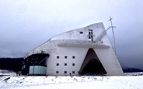 Vyšný Sliač - kostel