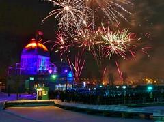 Panasonic FZ1000, Fireworks, Vieux-Port, Montréal, 7 January 2017 (11) (proacguy1) Tags: panasonicfz1000 fireworks vieuxport montréal 7january2017