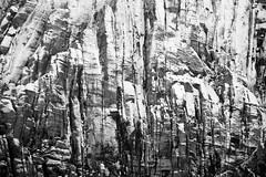 Snow & Sandstone (chris dreher) Tags: lasvegas nevada sandstone bw pattern