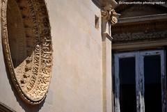 Barocco (Ecinquantotto ( + 1.090.000 di grazie a Tutti )) Tags: architettura architecture arte art colori colors chiese d3000 finestre geometrie italia italy lecce nikon nikond3000 puglia salento ventanas