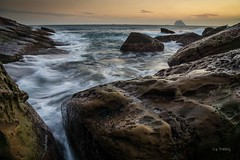 Rocky coast (canon-Tom) Tags: sea seascape sun sunrise sunset sunlight beah landscape exposure longexposure nature water waves rock cloud coast wharf taiwan asia travel