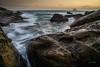 Rocky coast (canon-Tom) Tags: sea seascape sun sunrise sunset sunlight beah landscape exposure longexposure nature water waves rock cloud coast wharf taiwan asia travel