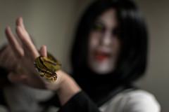 _DSC9662 (In Costume Media) Tags: orochimaru cosplay costume newcon newcon5 pdx naruto shippuden jiraiya kakashi sensei ninija cosplays cosplayers evil snake fight dark green eyes