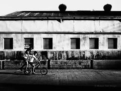 Angkas (Meljoe San Diego) Tags: meljoesandiego ricoh ricohgr gr streetphotography street bike children candid blackwhite