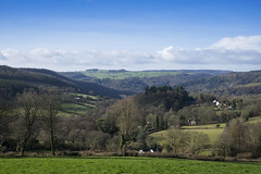 Wye Valley morning (Roger.C) Tags: wyevalley wfc view viewpoint valley village gloucestershire border trees fields bluesky sunny nikon d610 tamron 2470 houses beauty sights farms hills spectacular detail landscape