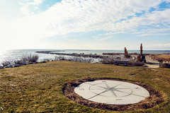 """S"" Curves (smartalex61) Tags: camp cronin war memorial narragansett ri rhode island beach point judith"