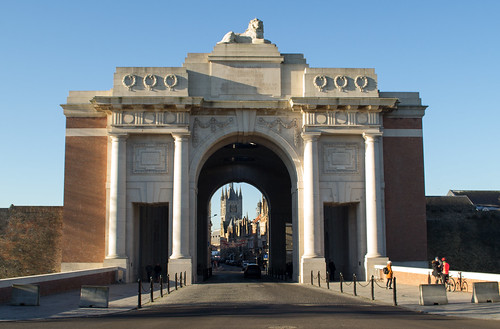 Belgium Ypres Menin gate (#0286)