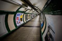 Point Of No Return (Douguerreotype) Tags: uk gb britain british england london underground tube metro subway tunnel embankment station city urban transport travel