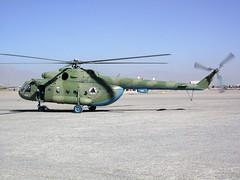 Mi-8MTV.1 581 Afghan National Army Air Corps/ ANA-AC. Tarin-Kowt, Uruzgan, Afghanistan. October 2009. (Aircraft throughout the years) Tags: mi8 mi8mtv mi8mtv1 581 afghan national army air corps ana anaac tarinkowt tarin kowt uruzgan afghanistan october 2009