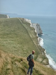 Walking the Dorset coastline