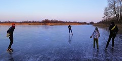 We Dutch love to skate (B℮n) Tags: wijdemeren ankeveense plassen ice skating ijspret ijs iceskating thenetherlands holland iceskate schaatsen waterland elfstedentocht natuurijs ijstochten wintertime skatingonnaturalice dutchskaters schaatseninwaterland skateoutdoor schaats schaatsgekte bevrorenmeer nearamsterdam wijwillenijsvrij dutch tradition seaofice polders sneeuw snow skates koekenzopie speedskaters frigidconditions cold winter hailing ijsoppervlakte dichtbevroren schaatsrijders schaatstocht genieten enjoy pleasure ijzers sunshine freeze noren klapschaatsen klapschaats skaters pootjeover nederland netherlands kids children fun sun sunset sidebyside shadows rope safety 100faves topf100