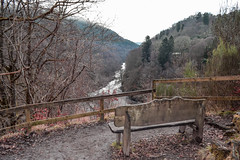 Seat... (Harry McGregor) Tags: seat bench woodland trees river rivergarry scenic forest perthshire killiecrankie soldiersleap nationaltrustforscotland scotland nikon d3300 harrymcgregor 17 february 2017 52in2017challenge
