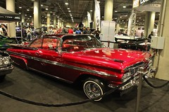 2016 LA Auto Show (USautos98) Tags: 1959 chevrolet chevy impala convertible lowrider laautoshow losangeles california