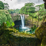Rainbow Falls. Hilo, Hawaii.
