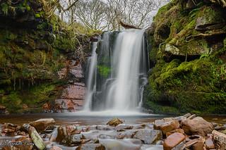 Nant Ddu Waterfall