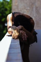 Ana (raissaazeredo) Tags: balet bale ballet dance indoor woman model womanink nu nude sensualart artist art dancer