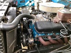 1979 Silverado C10 454 Big Block V8 - 06 (Alan Taylor - ERN) Tags: alantaylor ern 2017 1979 silveradoc10 bluepickup forsale pickup 454bigblockv8 shortbed engine chevy chevrolet