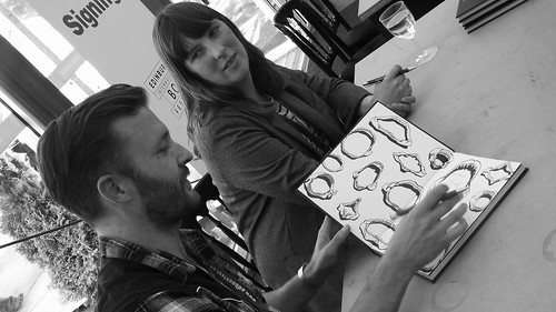 Edinburgh International Book Festival 2015 - Evie Wyld and Joe Sumner 03