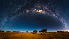 Namibia (jpmiss) Tags: 6d desert namibia namibie panorama panoramic sossuvlei travel canon jpmiss landscape milkyway nature night nuit panoramique paysage sauvage voielactée wilderness photopills epic