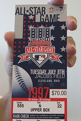 1997 All-Star Game ticket