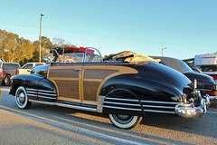 2015 Majestics CC New Years Day Picnic (USautos98) Tags: 1948 chevrolet fleetmaster bomb convertible woody woodie chevy
