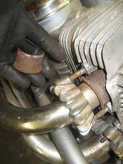 IMG_6399 (digyourownhole) Tags: vintage honda motorcycle restoration caferacer cb550 bratt buildnotbought