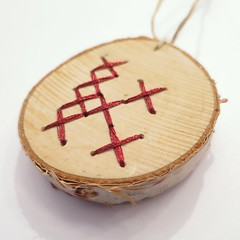 Advent Calendar Project '15 - Week 12 (katbaro) Tags: christmas crossstitch crafts christmasornament adventcalendarproject birchslice