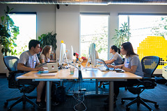 The print team beating the clock (ZURBinc) Tags: coffee marketing content foundation event bayarea sketches campbell 24hours nonprofit productdesign zurb kevinchu brandonarnold jennifertang zurbwired alinasenderzon mandisaeteun zurbwired2015