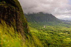 around Oahu (Edi Bhler) Tags: sky mountain plant nature berg clouds natur pflanze himmel wolken 28300mmf3556 nikond4s 2015hawaii oahulm
