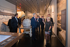 Secretary Kerry Tours the Anchorage Museum (U.S. Department of State) Tags: alaska glacier arctic anchorage johnkerry climatechange anchoragemuseum arcticcouncil