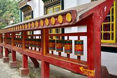 India - West Bengal - Darjeeling - Bhutia Busty Gompa - Prayer Wheels - 24 (asienman) Tags: india darjeeling westbengal asienmanphotography