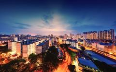 Red Hii, Skyline (09) Tags: city sunset urban skyline night landscape twilight nikon singapore saturday redhill scape hdb epic d4 14mm samyang14mm