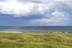 103. St Combs (GraynKirst) Tags: sea sky cloud seascape beach clouds landscape coast scotland seaside waves aberdeenshire yacht horizon bluesky shore northsea stcombs kirstyjarman