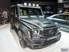 Mansory Gronos Black Edition (885305) (Thomas Becker) Tags: mansory gronos black edition mercedesbenz mercedes benz daimler gklasse gclass g63 amg gelndewagen suv iaa2015 iaa 2015 66 internationale automobilausstellung ausstellung motor show mobilitt verbindet frankfurt hessen deutschland germany messe fair exhibition automobil automobile car voiture bil auto fahrzeug vehicle  c copyright thomas becker aviationphoto nikon d800 fx nikkor 2470 f28 geotagged geo:lat=50112013 geo:lon=8643569 worldcars