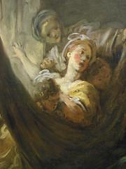 """Le berceau"" (dtail), Jean-Honor Fragonard, vers 1760-1765. (Lejeune Grgory) Tags: france art museum muse lille palaisdesbeauxartsdelille jeanhonorfragonard expositionjoiedevivre"